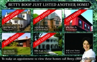 Real Estate Postcards Marketing - Just Listed Post cards.