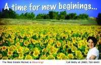 Spring Design ID#102 Real Estate Postcard Marketing for realtor postcards.