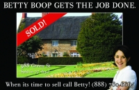 Just Sold Realtor Postcard - Featuring 1 extra larger property photo these real estate marketing post cards are great.
